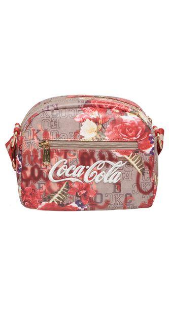 c5ae9756b Bolsa Transversal Coca Cola Monograma - 7118823 024 - pacific