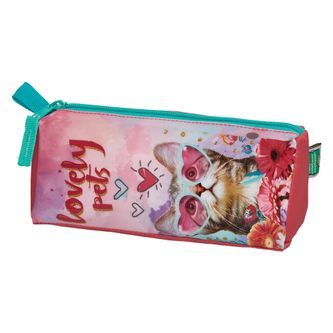 Estojo-Simp-Tria-Mft-Infantil-Lovely-Pet