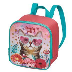 Lancheira-S-Ac-Mft-Infantil-Lovely-Pets