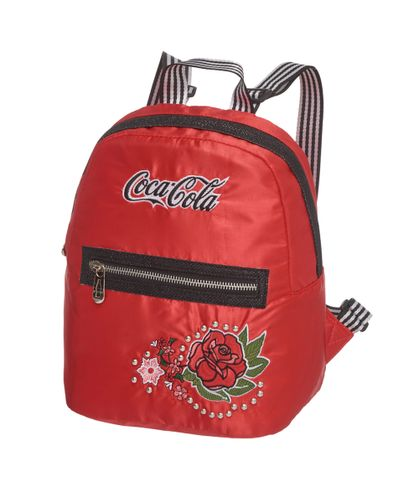 Mini-Mochila-Coca-Cola-Vintage-Rose