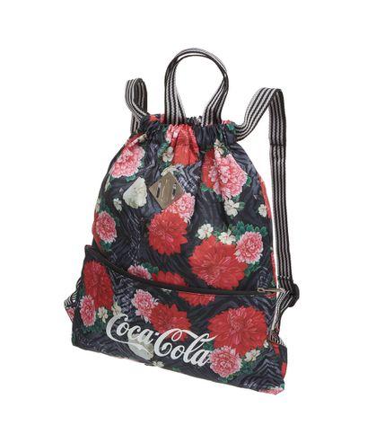 Bolsa-Saco-Coca-Cola-Floral-Tiger-